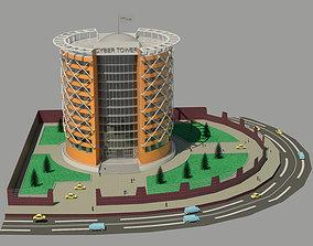 Exterior architecture appartment 3D printable model