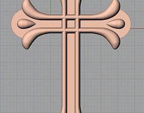 Christianity Jesus Christ Virgin Mary Cross 3D relief 2