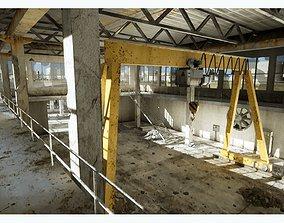 Abandoned Factory 3D asset