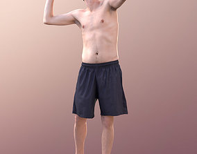 3D asset Andy 10103 - Volleyball Guy