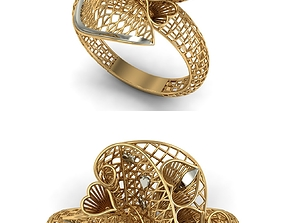 3D printable model GOLD RING engagement