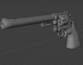 Smith Wesson Model 29 44 Magnum 3D asset