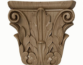 3D model pilaster CandidusPrugger art KA 628