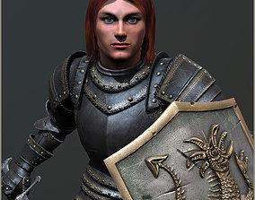 Adam Knight 3D model