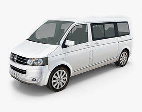 3D Volkswagen Transporter T5 Multivan Facelift