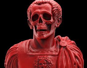 3D printable model Caesar Skull Bust