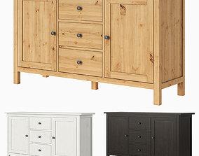 3D IKEA HEMNES Sideboard