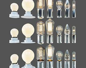 3D model LAMPS SET