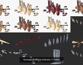 Terracotta Amphoras Collection 3D