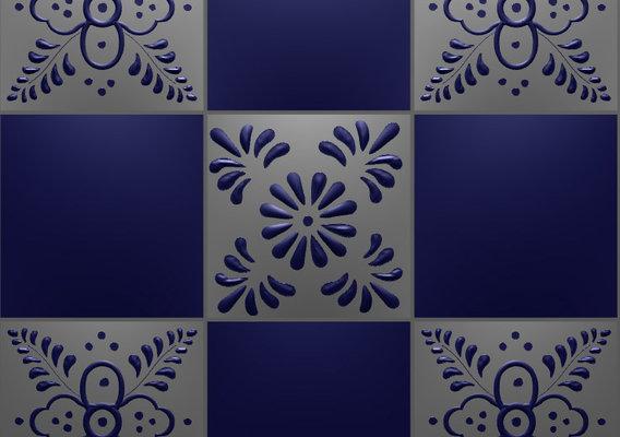 Ceramic Tiles from Oaxaca
