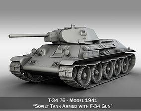 T-34-76 - Model 1941 - Soviet Medium Tank