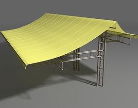 Canopy construction 3D model