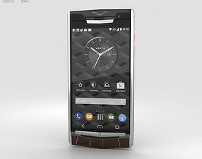 Vertu Signature Touch 2015 Cocoa Alligator 3D model