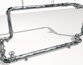 3D asset Modular pipes pack 2