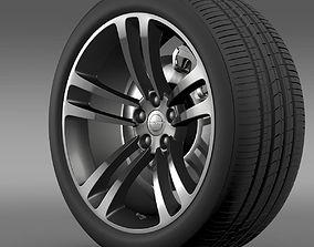 3D Chrysler 300 SRT8 Core wheel