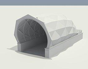 3D model SUBWAY STATION GATE