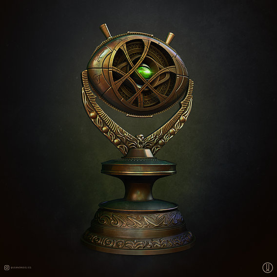 Eye of Agamotto With Stand