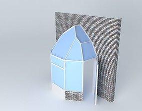 3D model Alreyn entrance Group