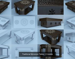 Traditional Moroccan Tables 3D model