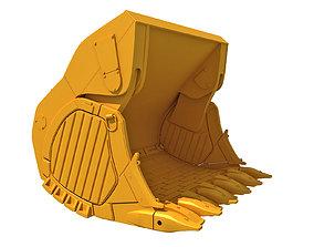 3D model Excavator Bucket