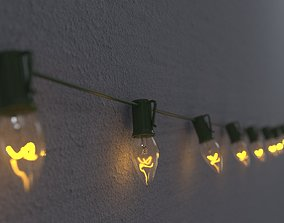 3D String Christmas Lights V7