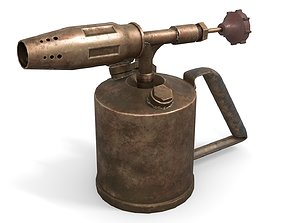 Blowtorch 3 3D model realtime