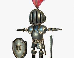 3D model Cartoon Knight