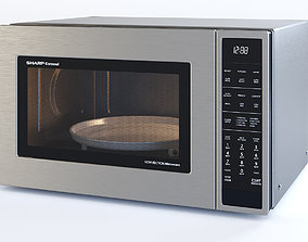 3D Microwave Oven SMC1585BS - by SHARP