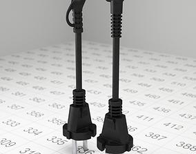 3D model Electric plug