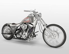 3D Harley Davidson FXR 1989 Custom