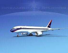 3D Boeing 787-8 Delta