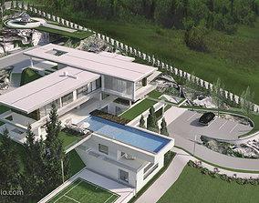 Vinik Modern Residential Villa Revit Model