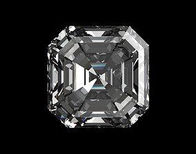Diamond Asscher 3D