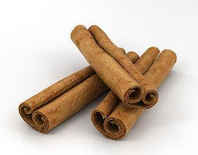Cinnamon Sticks 3D