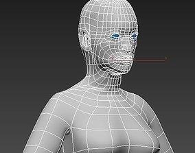 Female body 3D asset