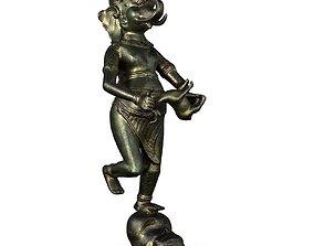Ganesha on Skull 3D model