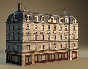 3D model European building 03
