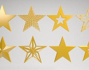 3D model star shape