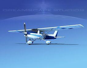 Cessna C152 Aerobat V06 3D model