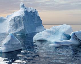 3D asset Iceberg pack