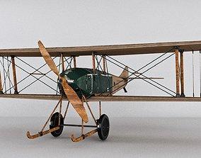 ww1 SPAD war Aircraft 3D model