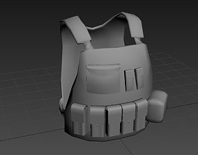 Eagle Ind MBAV Platecarrier 3D asset