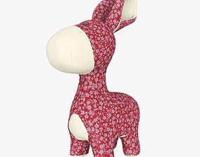 3D model Plush Donkey