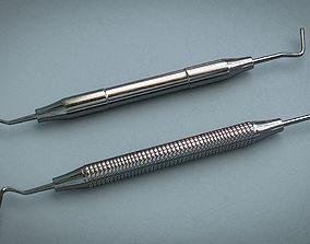 3D asset Periotome - Medical Instrument