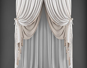 blind Curtain 3D model low-poly