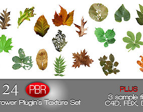 3D IVY GROWER plugin texture pack