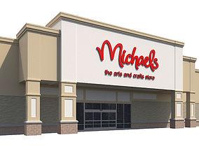 3D Retail-051 Michaels