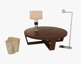 3D model Table Lamp Stump