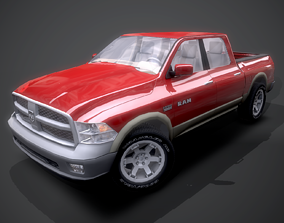 Dodge RAM 2009 3D model