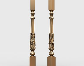 3D Classic baluster